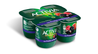 Activia Frutas x4