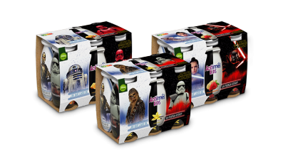 Actimel Star Wars x6