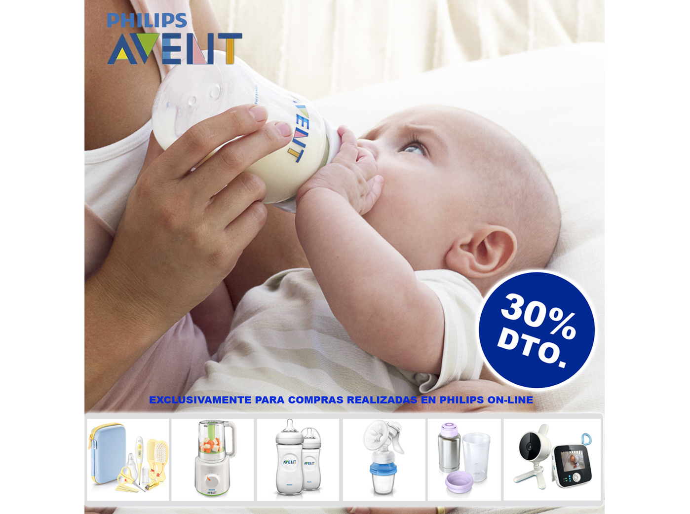30% dto. Web PHILIPS AVENT