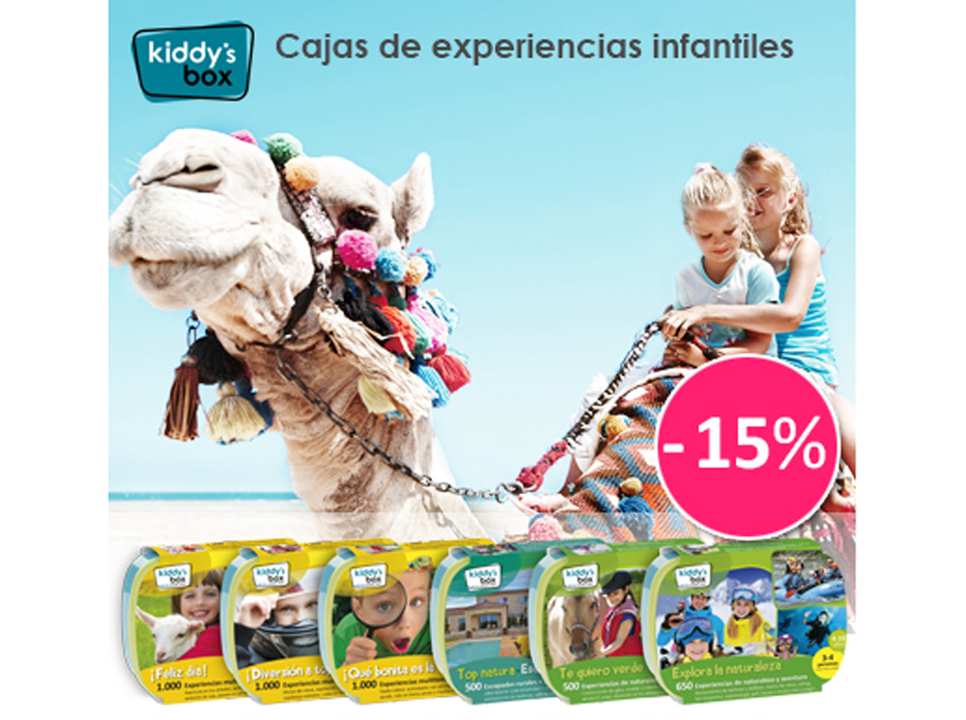 15% dto. en Kiddysbox.com