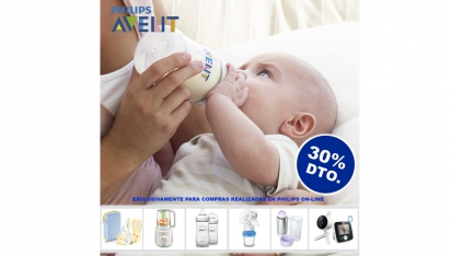 30% de dte. Web PHILIPS AVENT